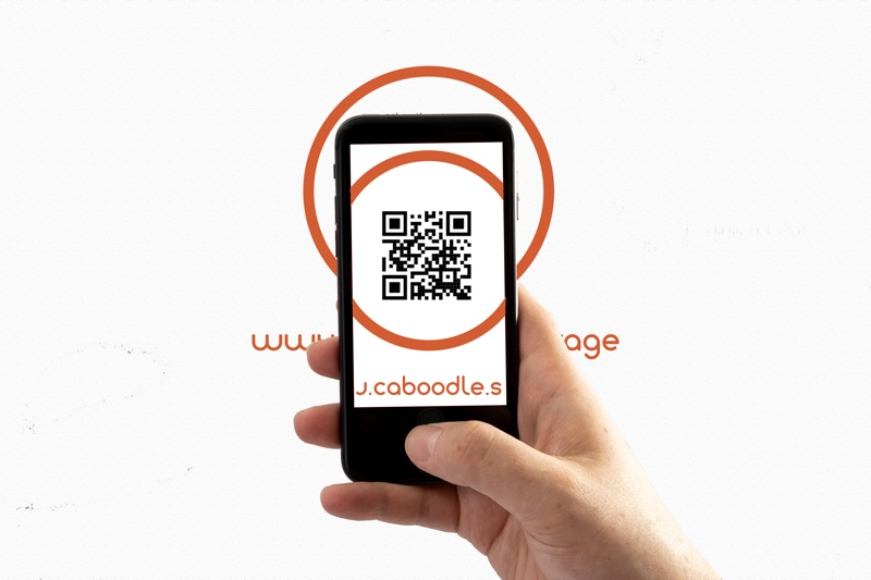 Activete your caboodle box with a QR code